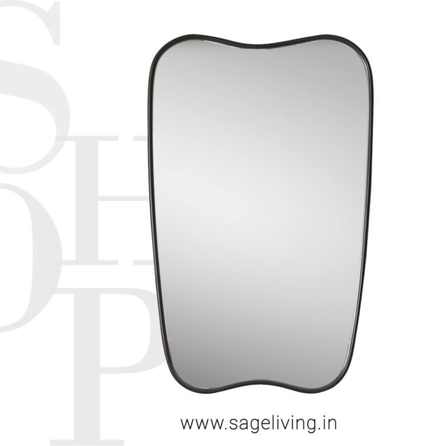 """An epic tale of form and fluidity.  The balance in design perfect to make a statement in your living space.  FORMA MIRROR  DIMENSIONS: W 22"""" x H 35"""" x D 1.25""""  SHOP NOW: www.sageliving.in #SageLiving #WeLoveSage   . . . . . . . . . . .  #vanitymirror #indoormirror #neutralhomedecor #homedecor #homedecorating #homedecorideas #decoratingideas #luxuryfurnituredesign #designfurniture #designpiece #artfurniture #luxuryinterior"""